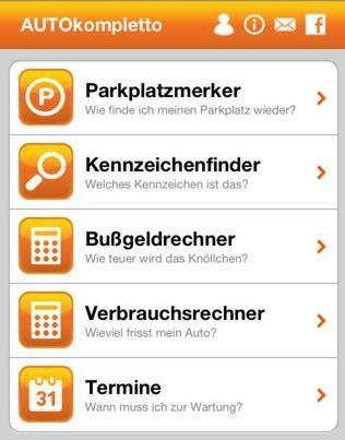 Eine App alles rund um das Auto - AUTOkompletto