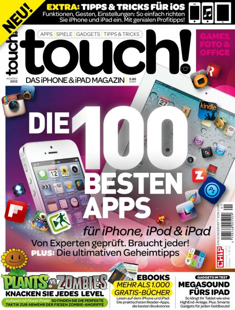 touch! neues Magazin fr iPhone-, iPad und iPod-Nutzer von CHIP