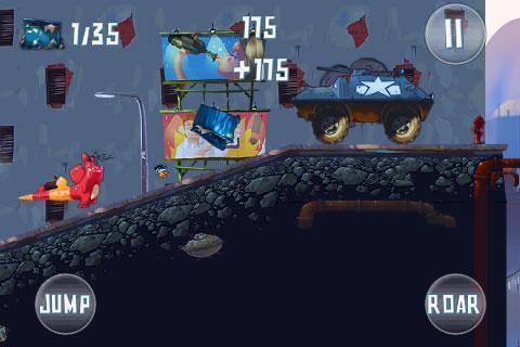 Demolition Dash - Die Dinoaction für unterwegs jetzt im AppStore