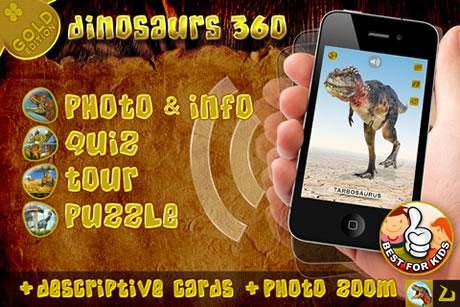 Dinosaurs 360 Gold - Lieblingsdinos für die iGeräte