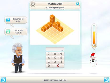 Einstein trainiert das Gehirn mit dem iPad