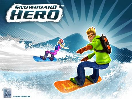 Spiele-App Snowboard Hero für kurze Zeit um 65% reduziert