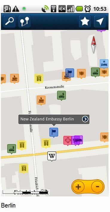 ForeverMap Offline-Karte für Android verfügbar