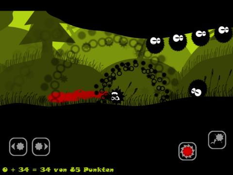 Jump´n`Run GooseGogs: Stachelbeeren für iPhone, iPad und iPod Touch