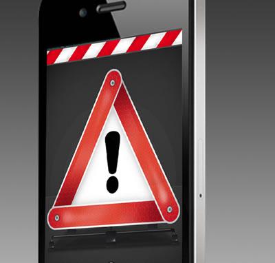 Warndreieck 3000 ab sofort auch für iPhone und iPod touch