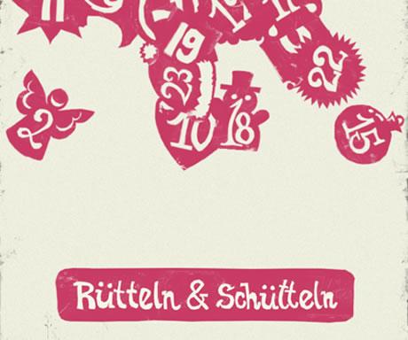 Rubbeln, schütteln, lesen Abgebrannt Appventskalender für iPhone und iPad