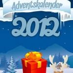 Adventskalender 2012 - drei bis sechs deutsche Apps täglich zum Schnäppchenpreis