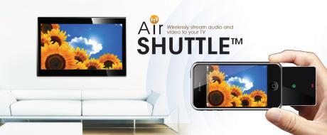 Mit Air Shuttle iPhone-Videos, Spiele & Fotos auf den Fernseher streamen