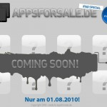 AppsForSale - iPad-Aktion am 1. August 2010