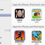 Backup der eigenen Apps erstellen