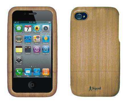 Bambus Cases von SkPad für iPhone und iPad