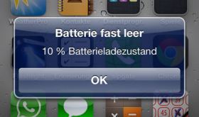 iPhone-Akku häufiger vollständig entladen