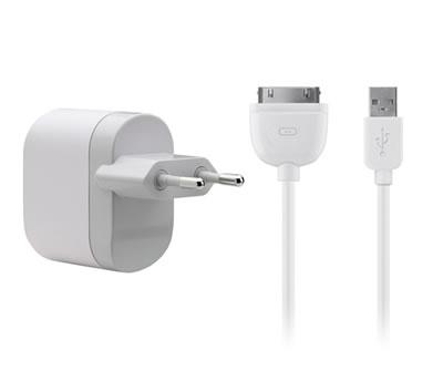 Belkin USB Netzadapter für Apple iPod, iPhone und iPad - F8Z630cw04  ©belkin