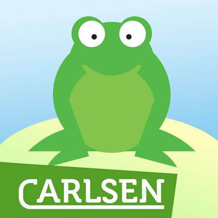 Carlsen zeigt mit Fritz Frosch Lebenszyklus der Frösche
