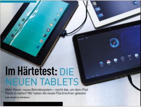 CHIP-App zeigt alles zum neuen iPad