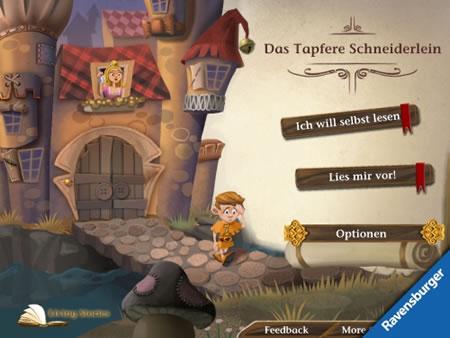 Das tapfere Schneiderlein - Im Grimm-Jahr erscheint der Klassiker im digitalen iPad-Gewand