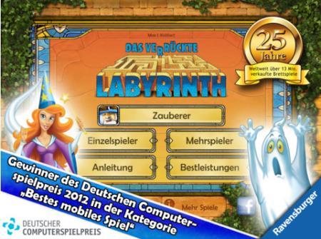 iPad-Spiel - Das verrückte Labyrinth HD zum Sonderpreis