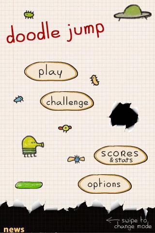 doodle jump spielen