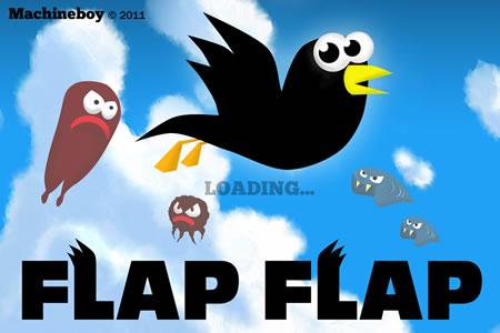 Flap Flap - Vöglein fliegt im iPhone Spiel App