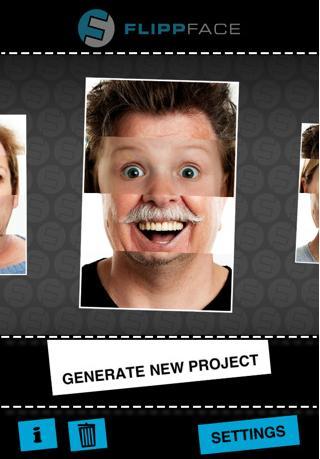 Flippface erschafft einzigartige und lustige Portraits