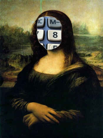...FunnyPic - Mona Lisa Layer...