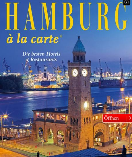 Hamburg  la carte - die besten Hotels und Restaurants Hamburgs in einer App