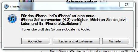 ...mit iOS 4.3 können jetzt Videos, Musik und Fotos auf anderen iGeräten drahtlos...