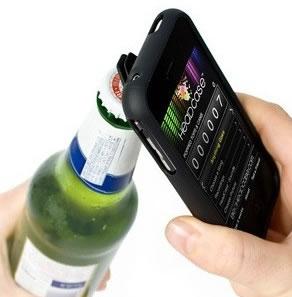 Flaschenöffner-Hülle für das iPhone4