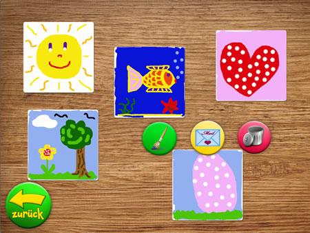 KritzelPaare bemalt Spielkarten - Wer findet die Paare auf iPhone und iPad?