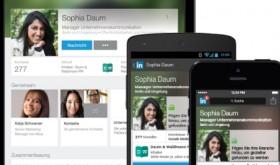 Linkedin mit neuen Nutzerprofilen für Mobilgeräte