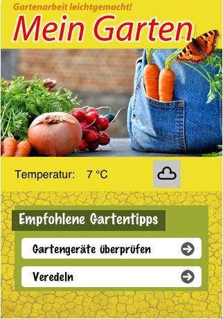 Mein Garten - Ratgeber-App für das ganze Gartenjahr