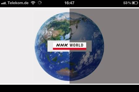 NHK WORLD TV Live - neueste Nachrichten aus Japan auf dem iGerät