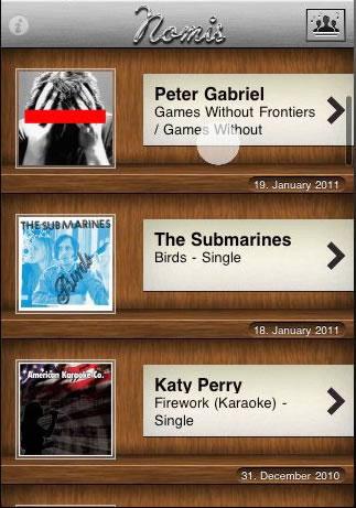 Nomis Musik App bis heute Abend für die Hälfte