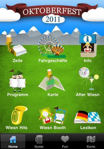 Oktoberfest in der Tasche - Wiesn App mit GPS-Unterstützung