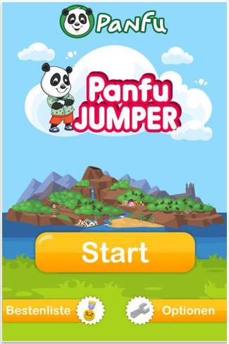 Panfu Jumper - Panda auf den Weg in den Himmel