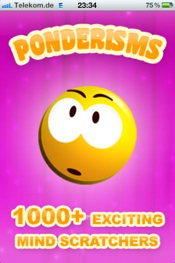 Ponderisms - Über 1000 Dinge zum Schmunzeln