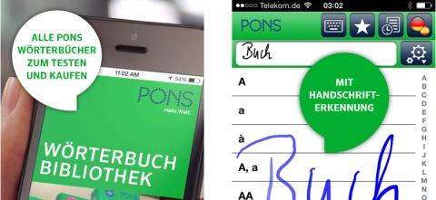 PONS Wörterbuch Bibliothek - erst testen, dann kaufen