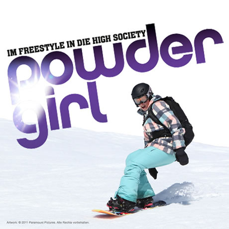 "App zum Paramount Pictures Film ""Powder Girl"""