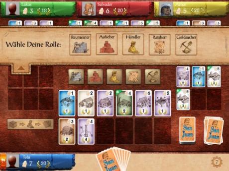 Strategie-Kartenspiel Puerto Rico jetzt als Spiele-App San Juan