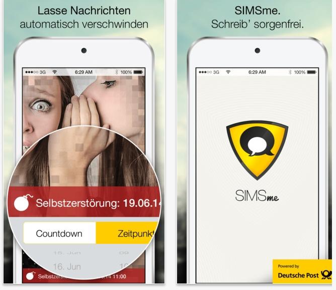 Deutsche Post bietet mit SIMse kostenlosen Messenger an