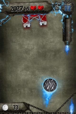 Neue Spiele-App - SteelBall für iPhone, iPod touch und iPad