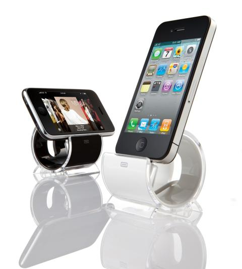 Edle Docking Station für iPhone und iPod touch