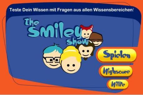 Verrücktes Wissens-Quiz 'The Smiley Show' für iPhone und iPad
