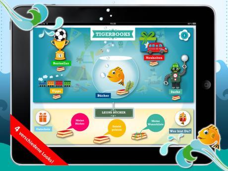 Tigerbooks - Der neue iPad-Buchladen für Kinder- und Jugendbücher