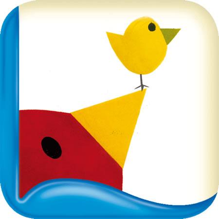 Tino das Dreieck - neue Kinder-Buch-App für ganz Kleine