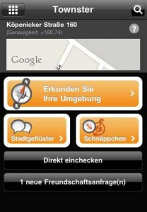 Townster iPhone App