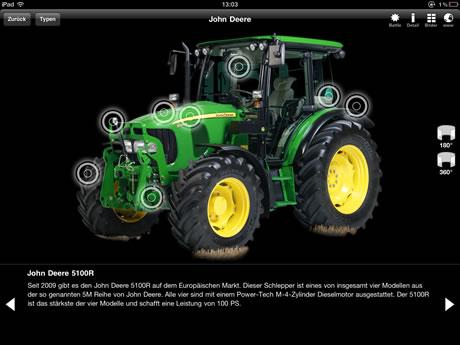 Traktoren – Giganten der Landwirtschaft - App für iPad