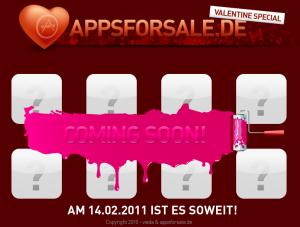 Be My Valentine - am Valentinstag 100 deutsche iPhone-Apps bis zu 50 Prozent billiger
