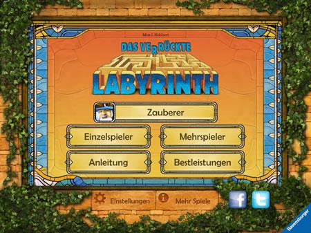 Brettspiel - Das verrückte Labyrinth - als App zum 25. Jubiläum