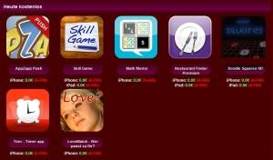 Valentinstag-Aktion - deutsche Apps heute kostenlos